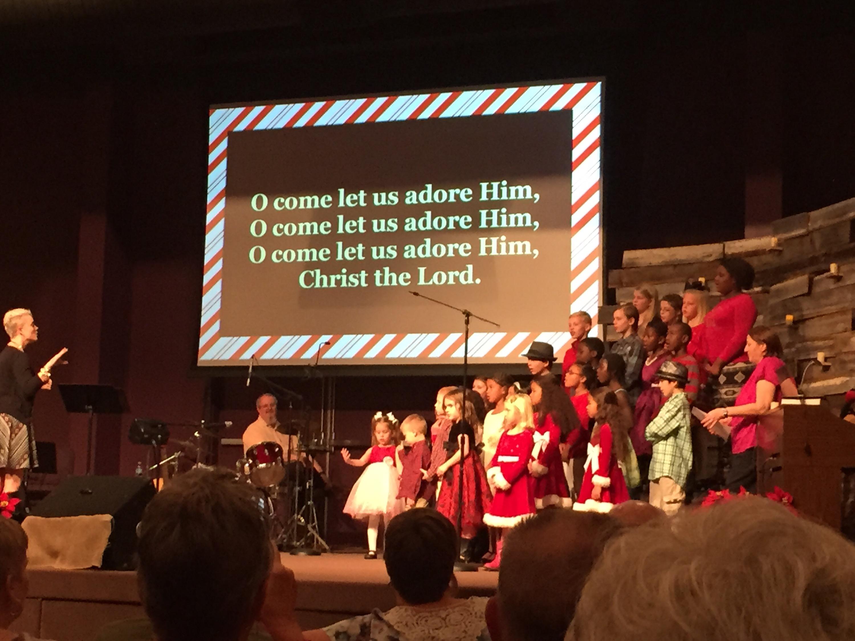 Kids Christmas Program 2015 | Owens Endeavors